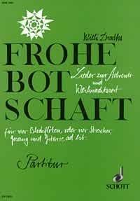 Draths, Willi: Frohe Botschaft - Partitur