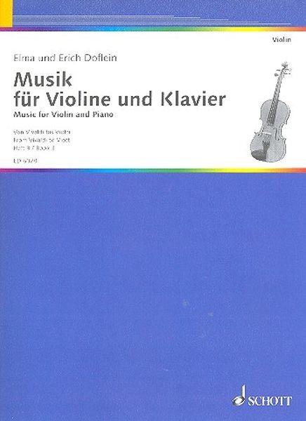 Doflein, Elma und Erich: Musik für Violine und Klavier III