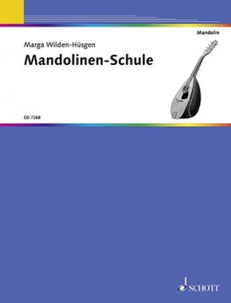 Wilden Huesgen Marga: Mandolinenschule