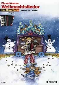 .: Die schönsten Weihnachtslieder für Akkordeon