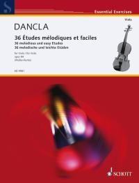 Dancla, Charles: 36 melodische und leichte Etüden