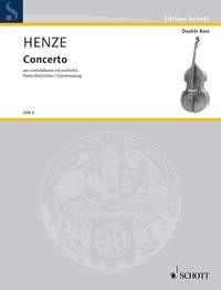 Henze, Hans Werner (1926): Concerto