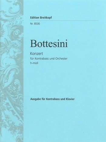 Bottesini, Giovanni: Kontrabaßkonzert h-moll