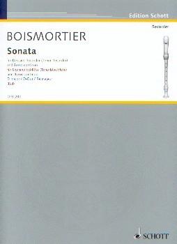 Boismortier, Joseph Bodin de: Sonata D-Dur