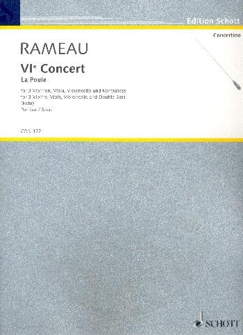 "Rameau, Jean Philipp: VI Concert ""La Poule"