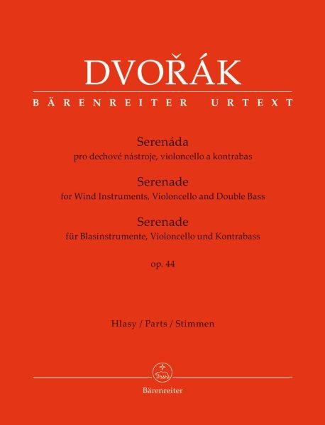 Dvorak, Antonin: Serenade für Blasinstrumente, Violoncello und Kontrabass op 44