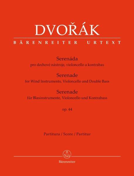 Dvorak, Antonin: Serenade für Blasinstrumente, Violoncello und Kontrabass