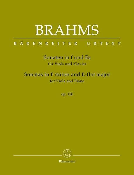 Brahms, Johannes (1833-1897): Sonaten in f-Moll und Es-Dur