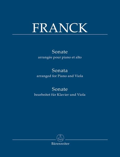 Franck, Cesar: Sonate A-Dur