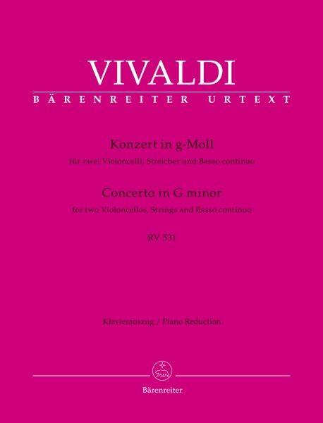 Vivaldi Antonio: Konzert g-moll RV 531 F 3/2 T 61 PV 411
