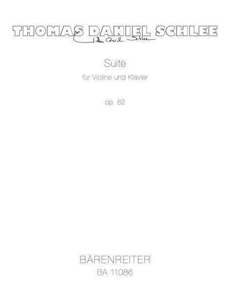 Schlee Thomas Daniel: Suite op 82