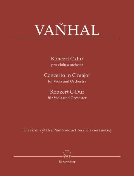 Vanhal, Jan Krtitel: Konzert für Viola und Orchester C-Dur