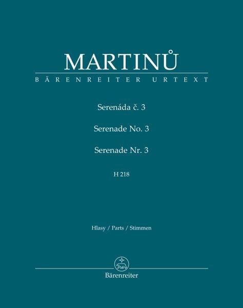 Martinu Bohuslav: Serenade 3