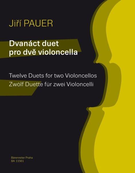 Pauer Jiri: Zwölf Duette für zwei Violoncelli