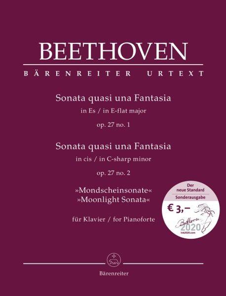 Beethoven Ludwig van: Sonata quasi una fantasia