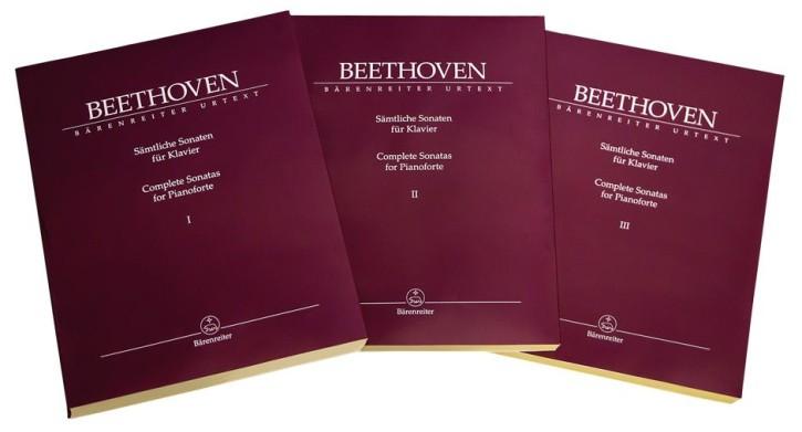 Beethoven, Ludwig van: Sämtliche Sonaten für Klavier I-III