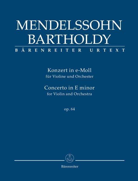 Mendelssohn Bartholdy Felix: Konzert e-moll op 64