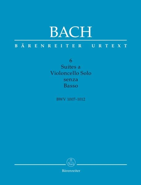 Bach Johann Sebastian: 6 Suiten BWV 1007-1012