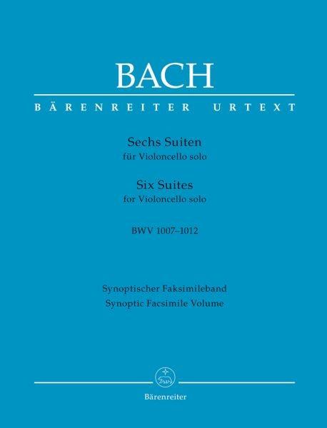 Bach, Johann Sebastian: Sechs Suiten für Violoncello solo BWV 1007-1012