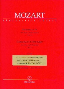 Mozart, Wolfgang Amadeus (1756-1791): Konzert in Es für Horn und Orchester Nr. 2