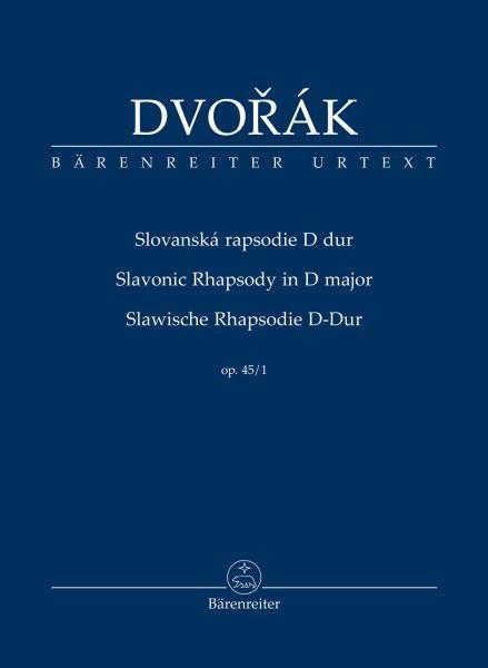 Dvorak Antonin: Slawische Rhapsodie D-Dur op 45/1