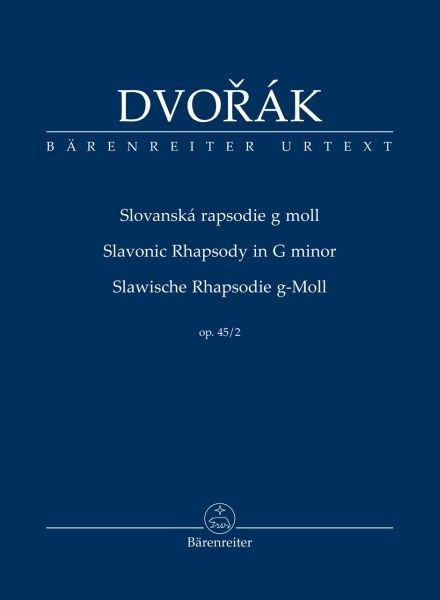 Dvorak Antonin: Slawische Rhapsodie g-moll op 45/2