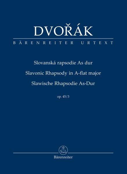 Dvorak Antonin: Slawische Rhapsodie As-Dur op 45/3