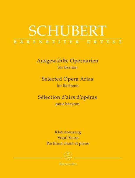 Schubert Franz: Ausgewählte Opernarien