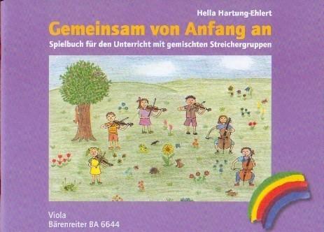 Hartung-Ehlert, Hella: Gemeinsam von Anfang an - Viola