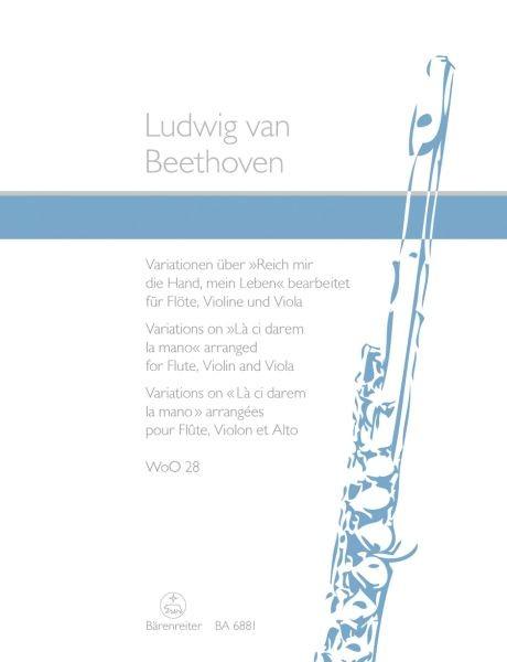 """Beethoven, Ludwig van: Variationen über """"Reich mir die Hand, mein Leben"""" aus Mozarts """"Don Gio"""