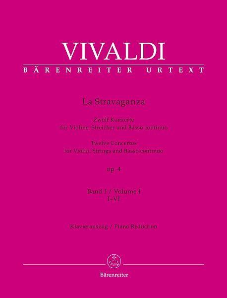 Vivaldi, Antonio (1678-1741): La Stravaganza op. 4 - Bd.1