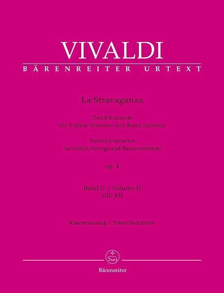 Vivaldi, Antonio (1678-1741): La Stravaganza op. 4 - Bd.2