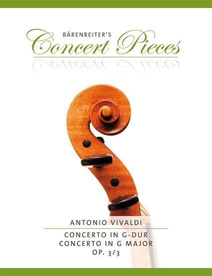 Vivaldi, Antonio: Concerto G-Dur op. 3/3