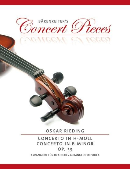 Rieding, Oskar: Concerto h-Moll op. 35