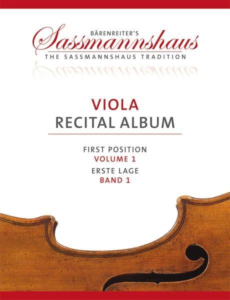 Sassmannshaus, Kurt (Hrsg.): Viola Recital Album, Band 1