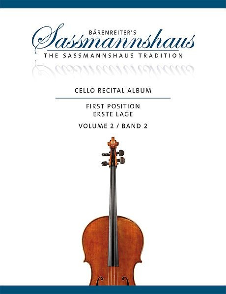 Sassmannshaus, Christoph / Lusk, Melissa (hrs: Cello recital album 2