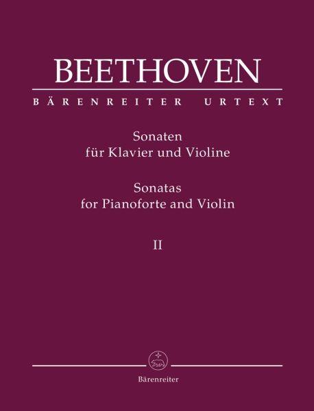 Beethoven, Ludwig van: Sonaten für Klavier und Violine Bde. II
