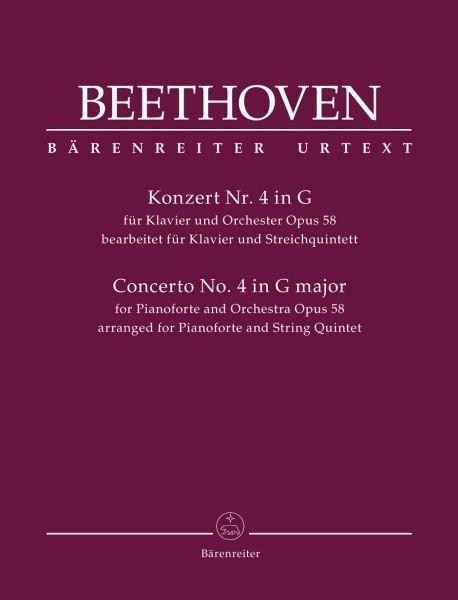 Beethoven Ludwig van: Konzert für Klavier und Orchester Nr. 4 op. 58