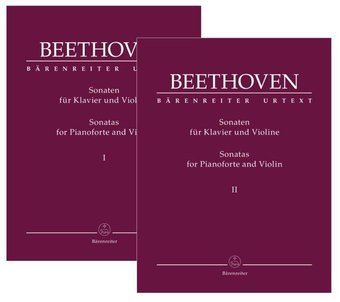 Beethoven, Ludwig van: Sonaten für Klavier und Violine