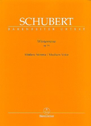 Schubert, Franz (1797-1828): Winterreise op. 89 D 911