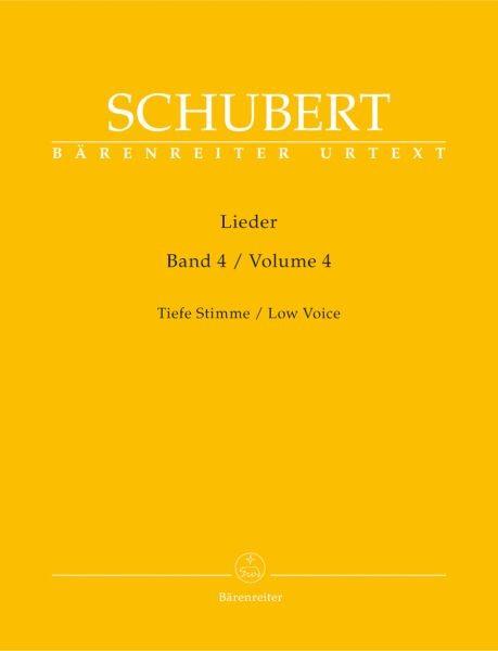 Schubert, Franz (1797-1828): Lieder - Band 4