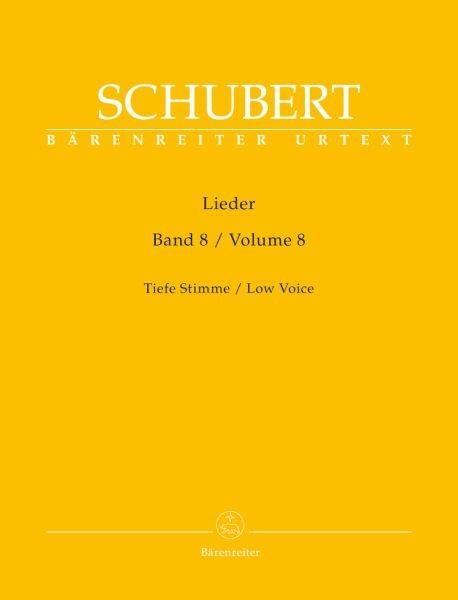 Schubert Franz: LIEDER 8