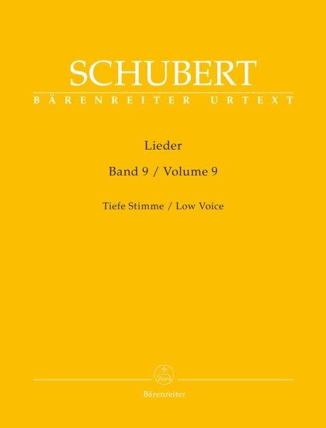 Schubert Franz: Lieder 9