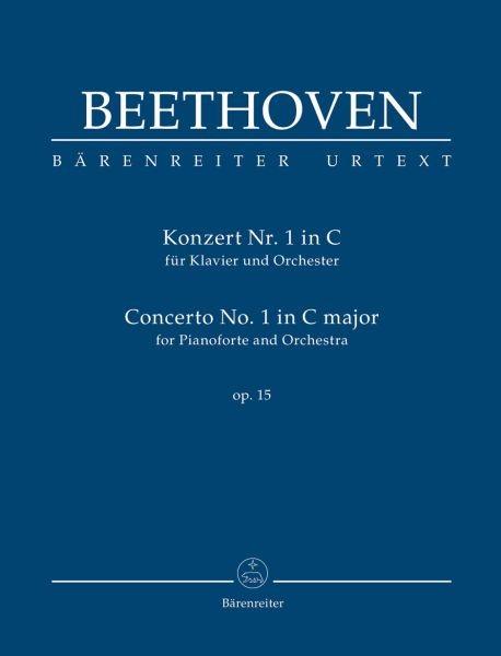 Beethoven, Ludwig van  [Hrsg:] Del Mar, Jonat: Konzert für Klavier und Orchester Nr. 1 C-Dur op. 15