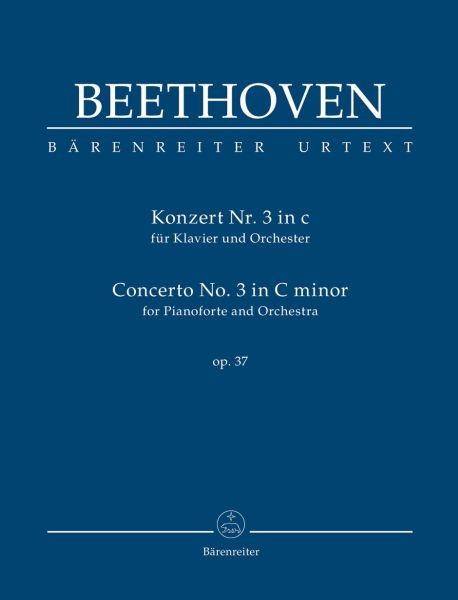 Beethoven, Ludwig van  [Hrsg:] Del Mar, Jonat: Konzert für Klavier und Orchester Nr. 3 c-Moll op. 37