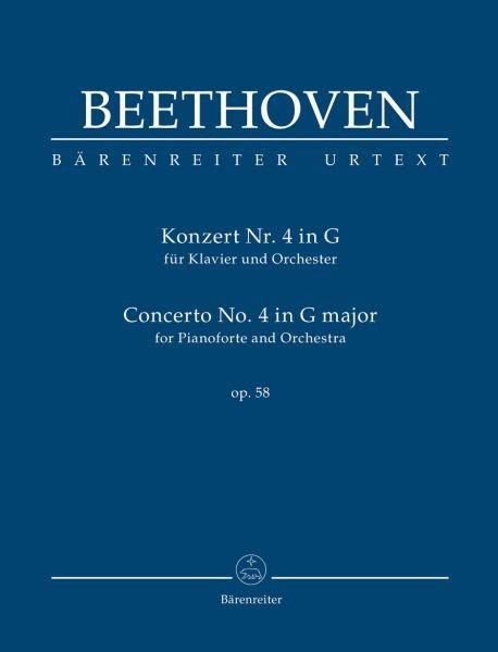 Beethoven, Ludwig van  [Hrsg:] Del Mar, Jonat: Konzert für Klavier und Orchester Nr. 4 G-Dur op. 58
