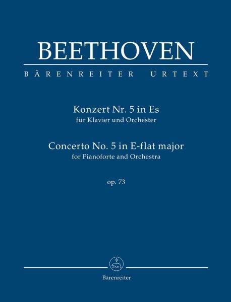 Beethoven, Ludwig van  [Hrsg:] Del Mar, Jonat: Konzert für Klavier und Orchester Nr. 5 Es-Dur op. 73