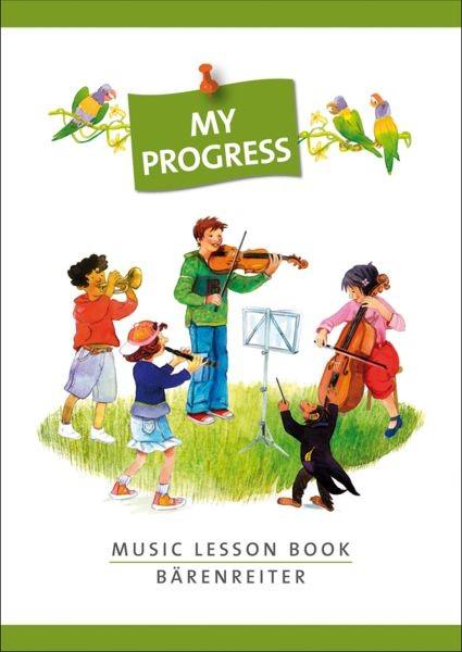 .: My Progress. Music Lesson Book. Aufgabenheft (mit Stickerbogen)