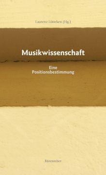 Lütteken, Laurenz (Hg.): Musikwissenschaft