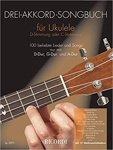 : 3 Akkord Songbuch für Ukulele